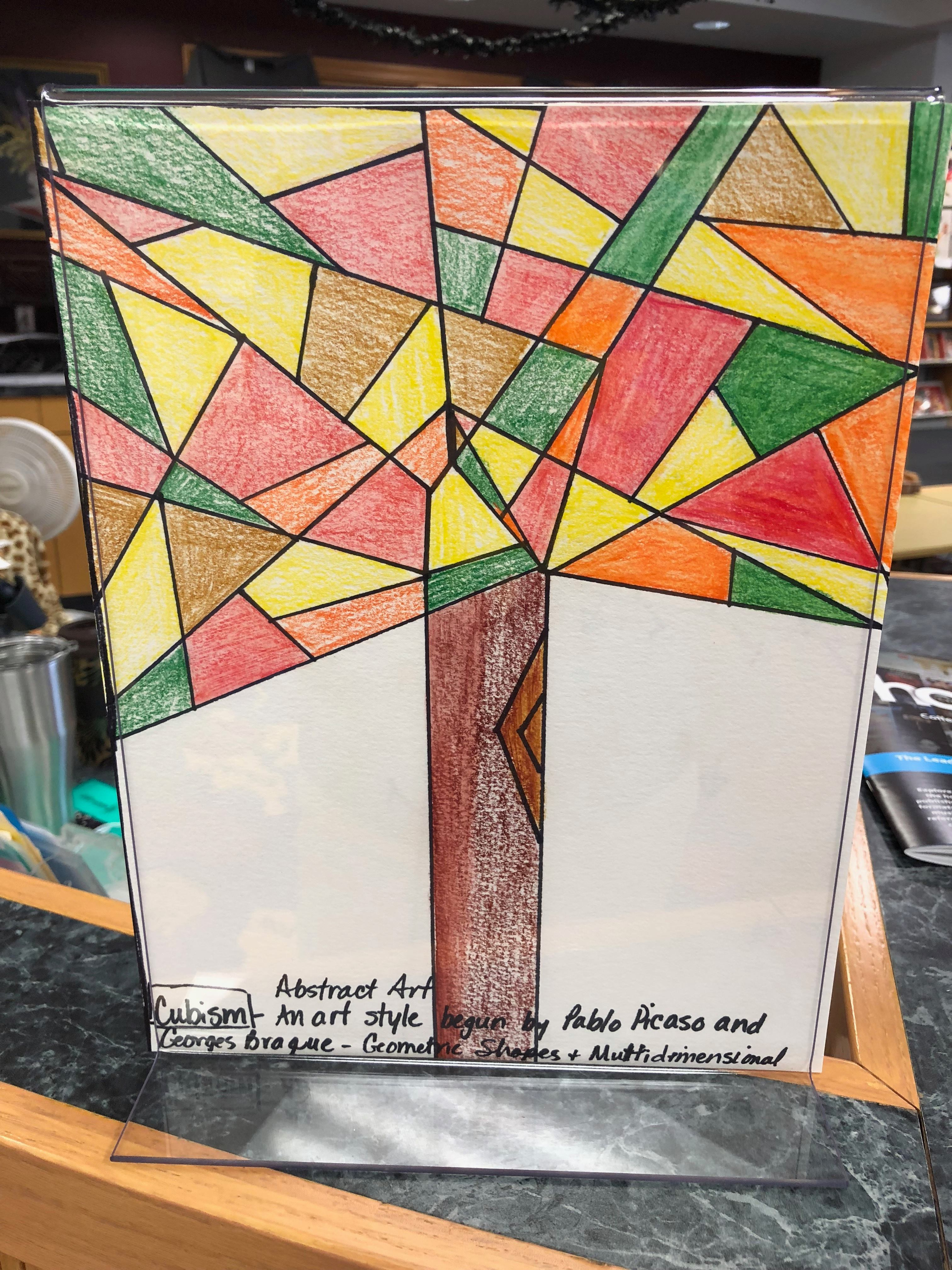 A.R.T. 1 Students Learn About Cubism
