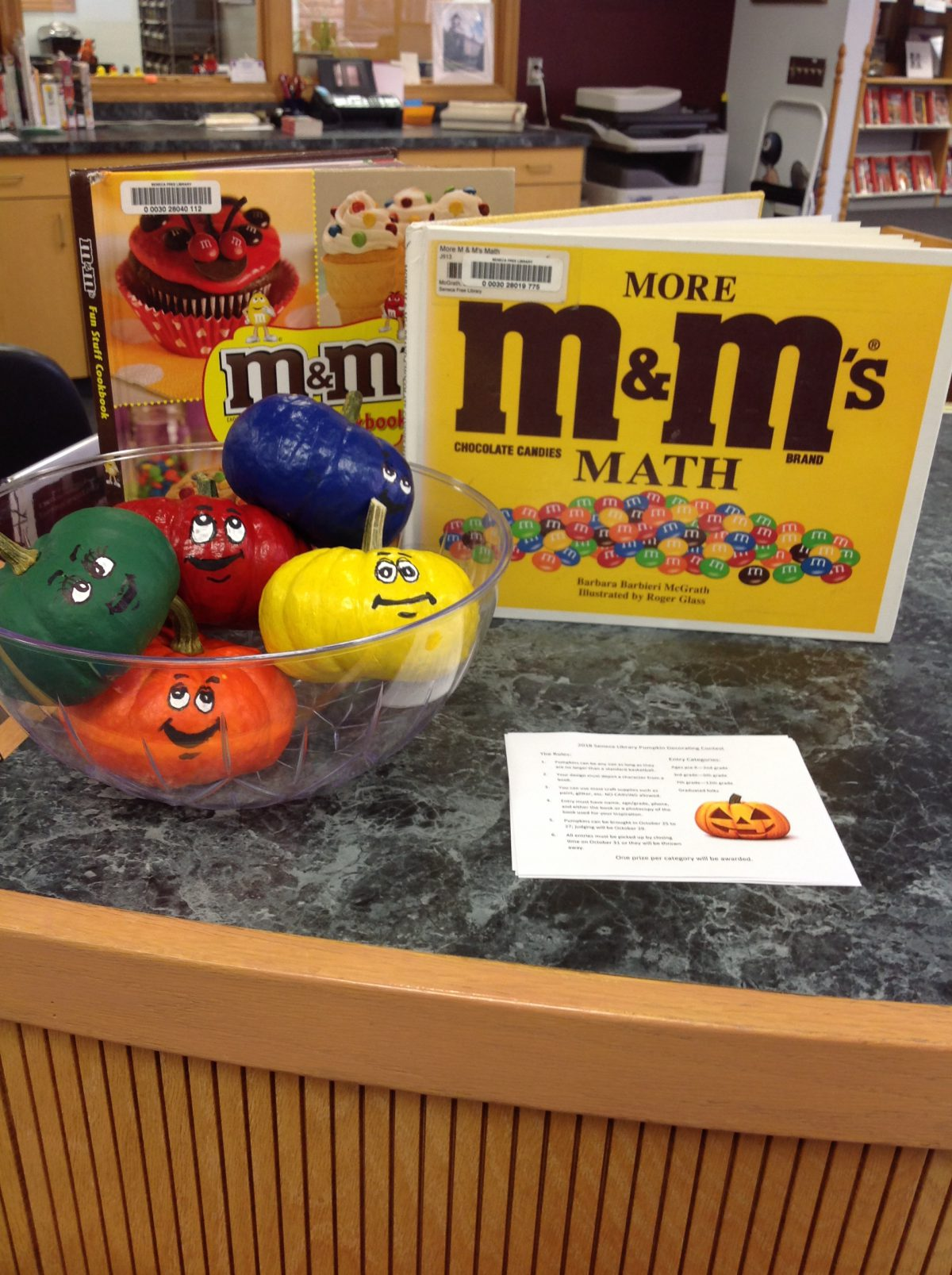 WINNERS SELECTED FOR LITERARY PUMPKIN DECORATING CONTEST