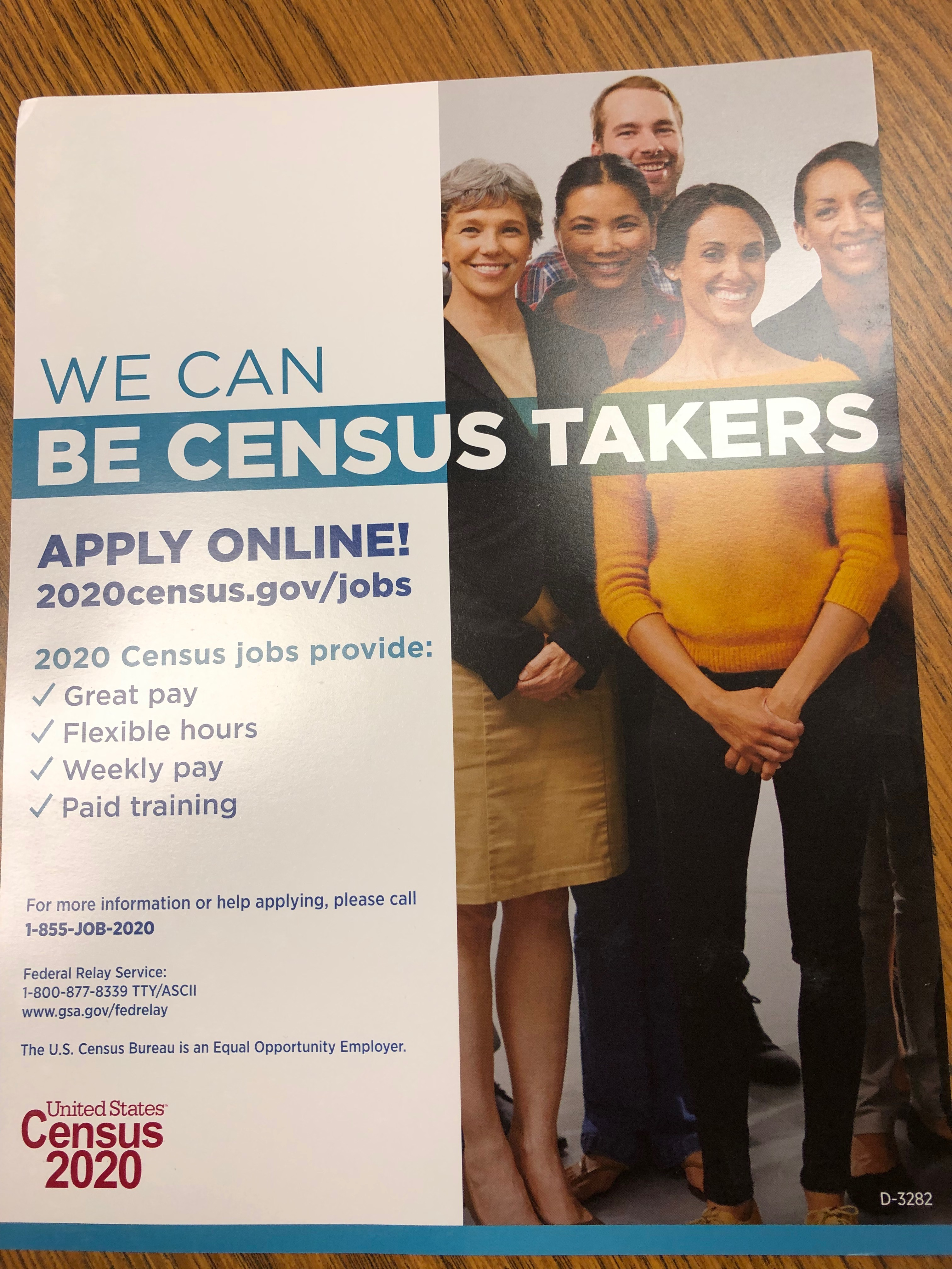 You Can Be a Census Taker Too!