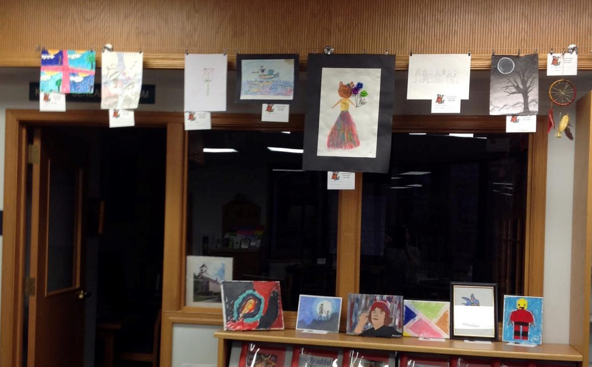 Youth Art Show at Your Library a Great Success!