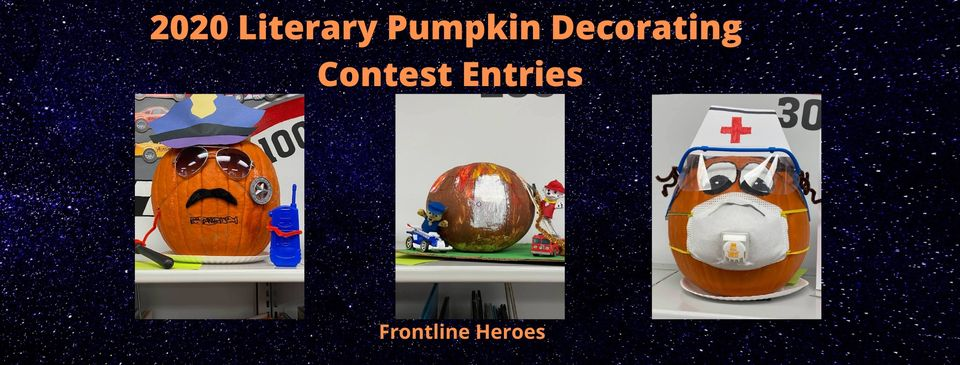 Literary Pumpkin Decorating Contest Entries