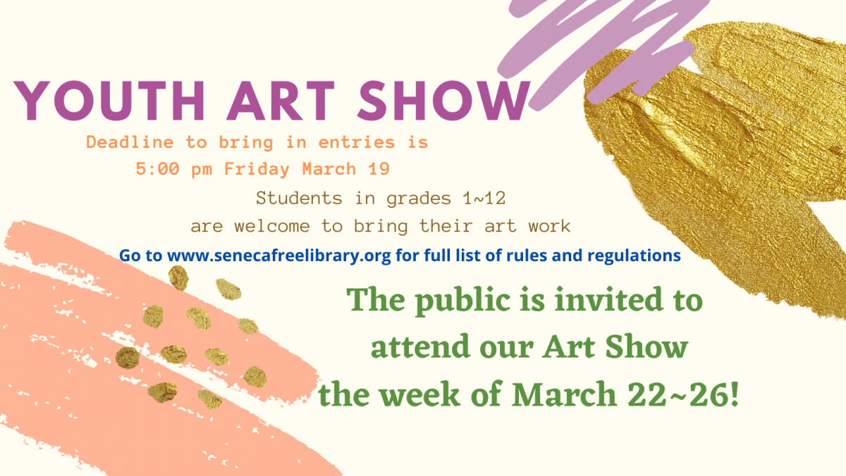 Second Annual YOUTH ART SHOW Announced