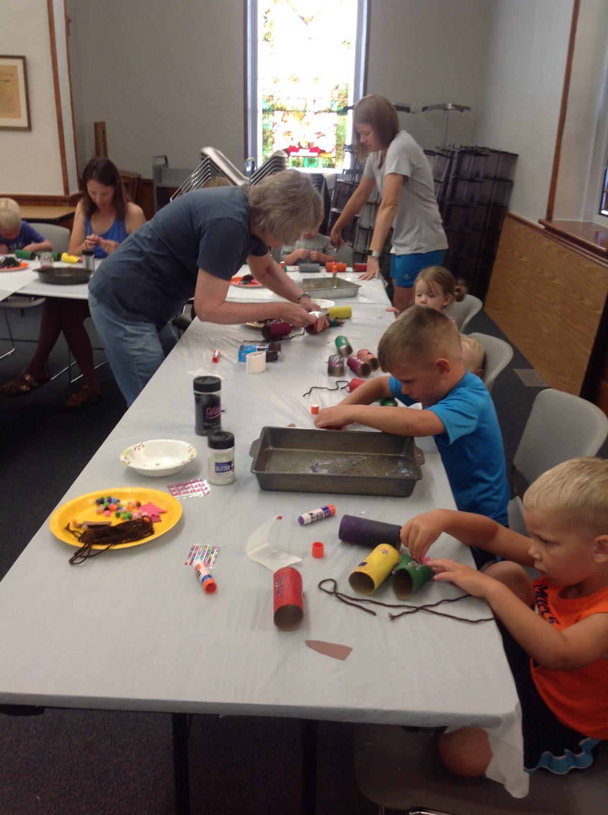Week of June 30~July 2 Library Activities