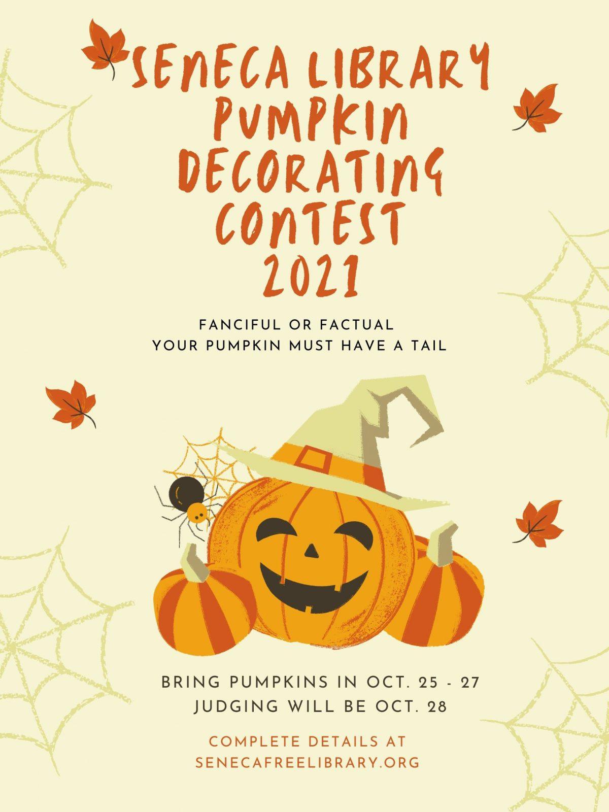 Sixth Annual Pumpkin Decorating Contest
